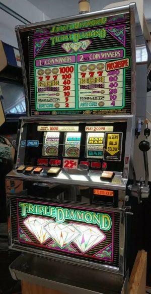 Double Diamond Deluxe Slot Machine Repair